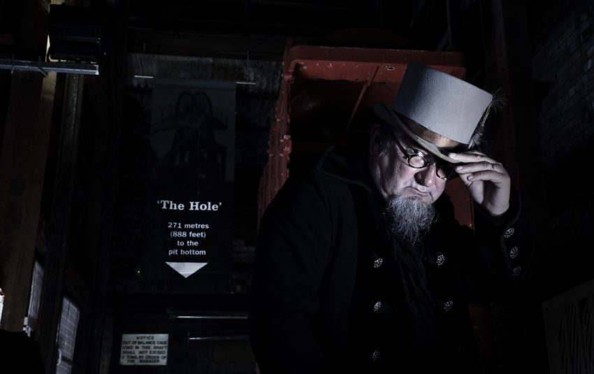 Image of Spooky Storyteller at Woodhorn Museum