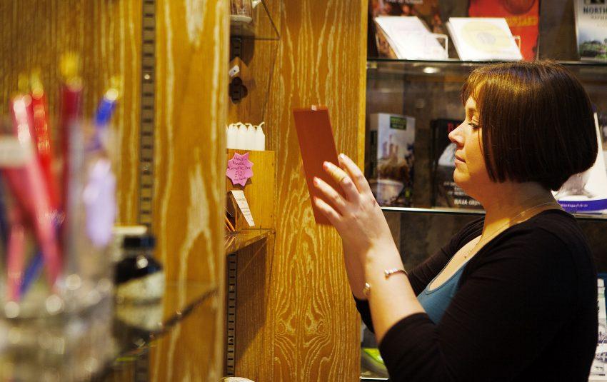 Museums Northumberland Hexham Shop Woman