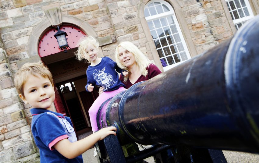 Museums Northumberland Berwick Family Cannon