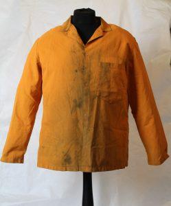 Orange overall jacket