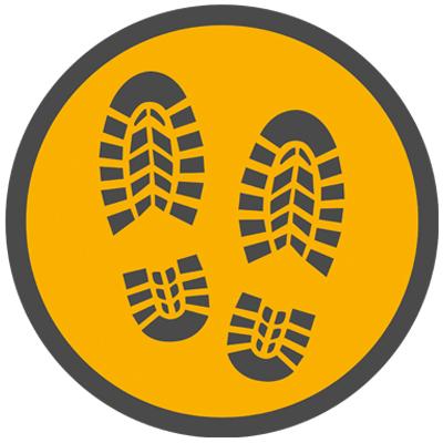 footprints symbol